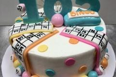 105 Bingo Cake