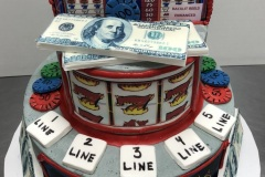Slot Machine Tier Cake