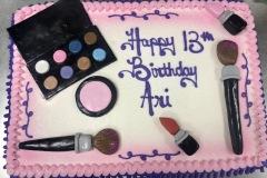 Fondant Makeup Cake