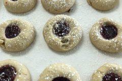 Raspberry Walnut Cookie