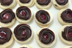 Raspberry Fudge Cookie