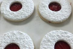 Large Linzer Cookie