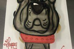 Cupcake Cake Smooth Bull Dog