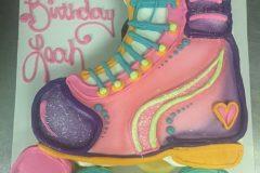 Cupcake Cake Smooth Roller Skate