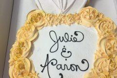 Cupcake Cake Engagement Ring Gold