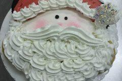 Cupcake Cake Santa Face