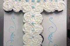 Cupcake  Rosette Cake Cross