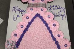 Cupcake Cake  Rosette Pink Princess with Tiera