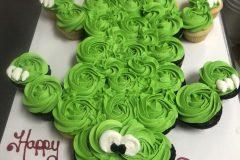 Cupcake Cake Rosette  Alligator