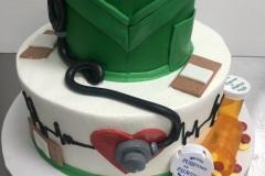 Pharmacy Graduate Tier Cake