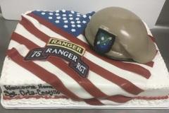 Patriotic Ranger Cake