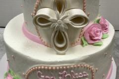 Loopy Cross Tier Cake