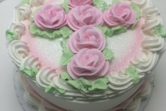 Cross of Roses Cake