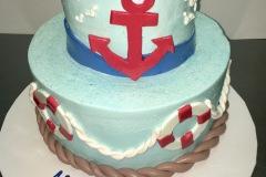 Ship Ahoy Tier Cake