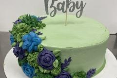 Succulent Swag Cake